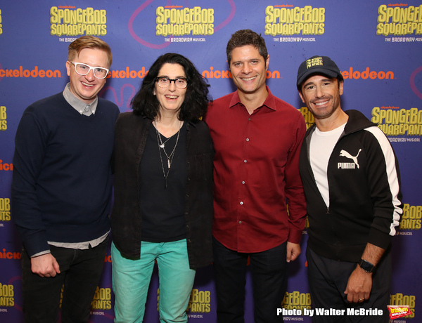 Kyle Jarrow, Tina Landau, Tom Kitt and Christopher Gattelli