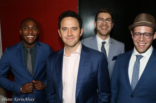 Bryan Carter, Santino Fontana, Charlie Rosen, Steven Feifke Photo