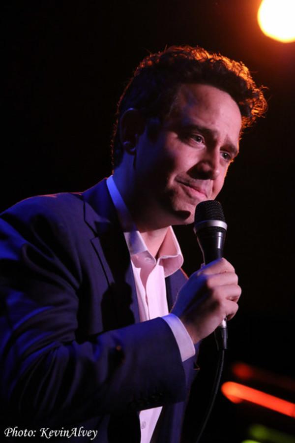 Photo Flash: Santino Fontana Croons at Broadway at Birdland