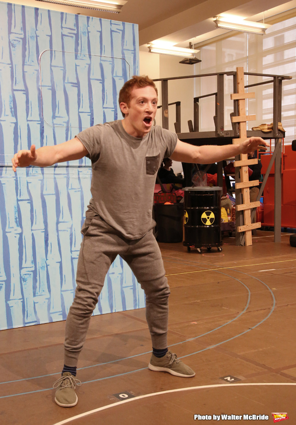 Photo Coverage: Squidward & Sandy & Patrick & More! Go Inside Rehearsals for SPONGEBOB SQUAREPANTS!