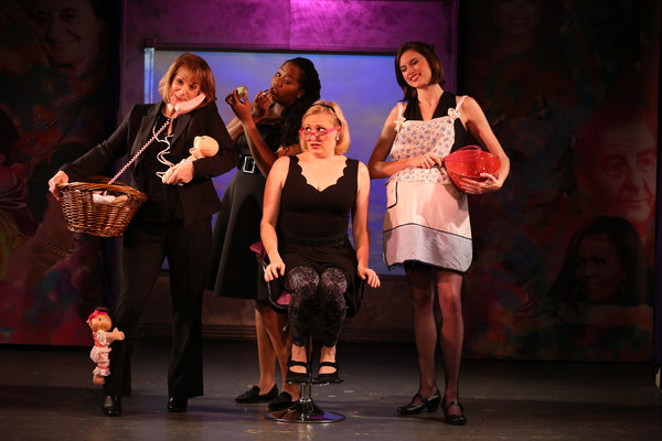 Photo Flash: First Look at THIS ONE'S FOR THE GIRLS Off-Broadway