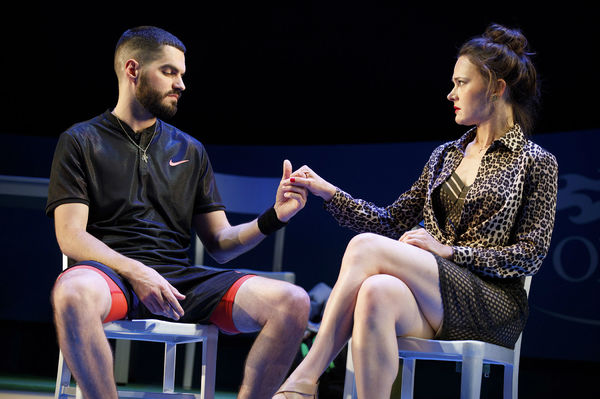 Photo Flash: Ace! Get a First Look at THE LAST MATCH Off-Broadway