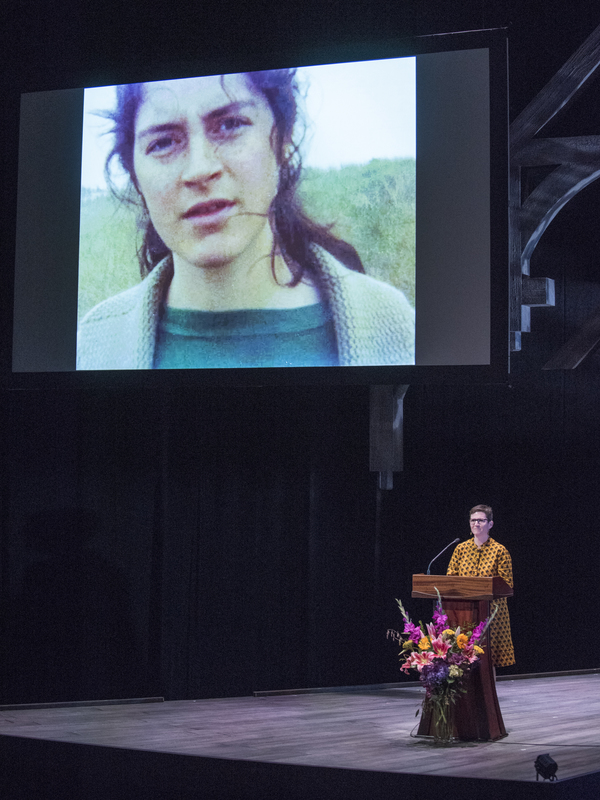 Director and teacher Jessica Thebus, close friend of Martha's, daughter of acclaimed  Photo