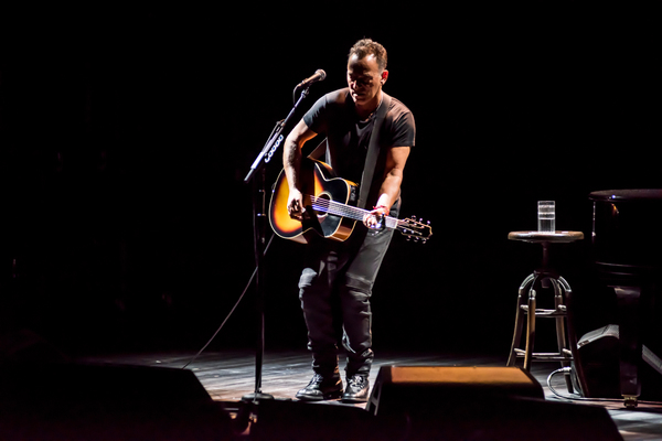 Photo Flash: The Boss Takes Broadway- First Look at SPRINGSTEEN ON BROADWAY!
