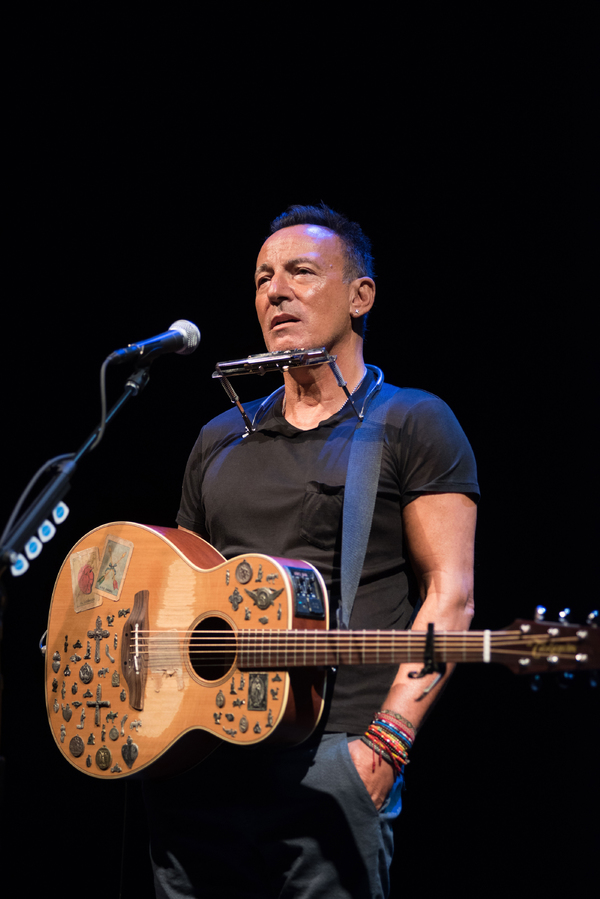 Springsteen on Broadway Production Photo