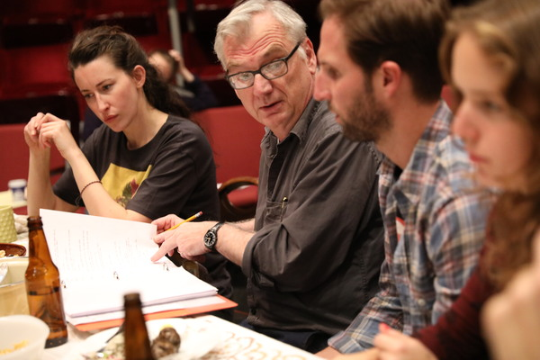 Photo Flash: Inside Rehearsal for Richard Nelson's ILLYRIA at The Public Theater