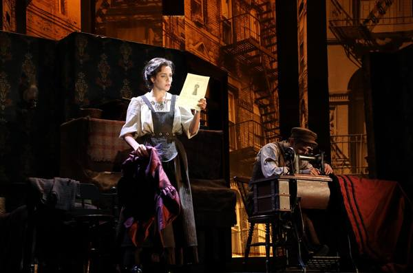Photo Flash: First Look at Samantha Massell and More in Goodspeed's RAGS
