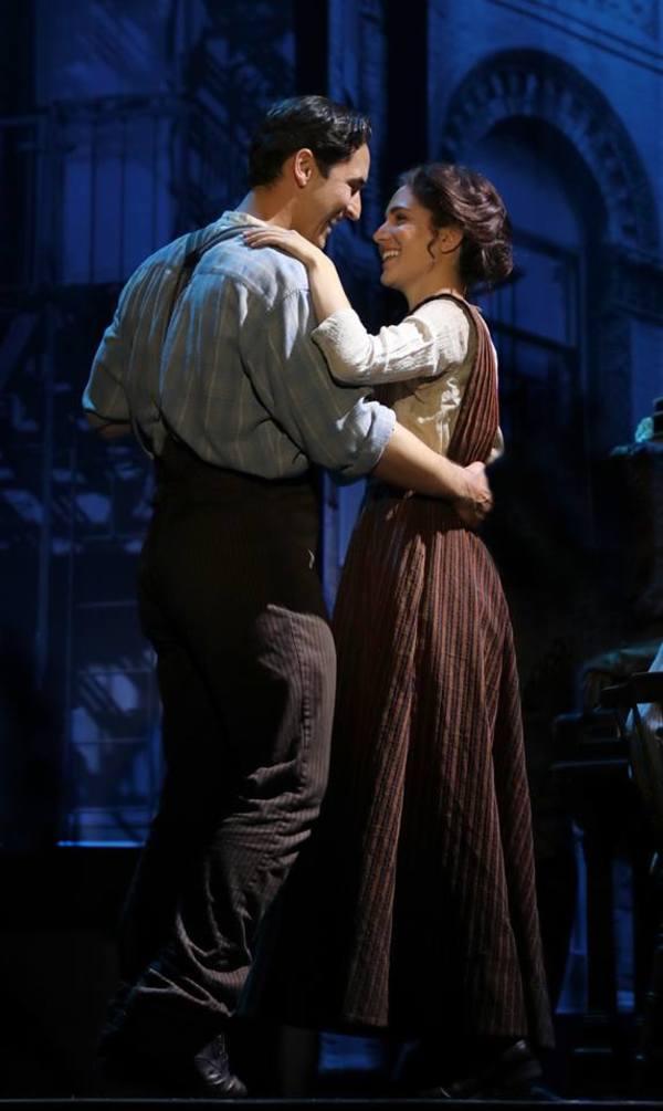Sean MacLaughlin and Samantha Massell  Photo