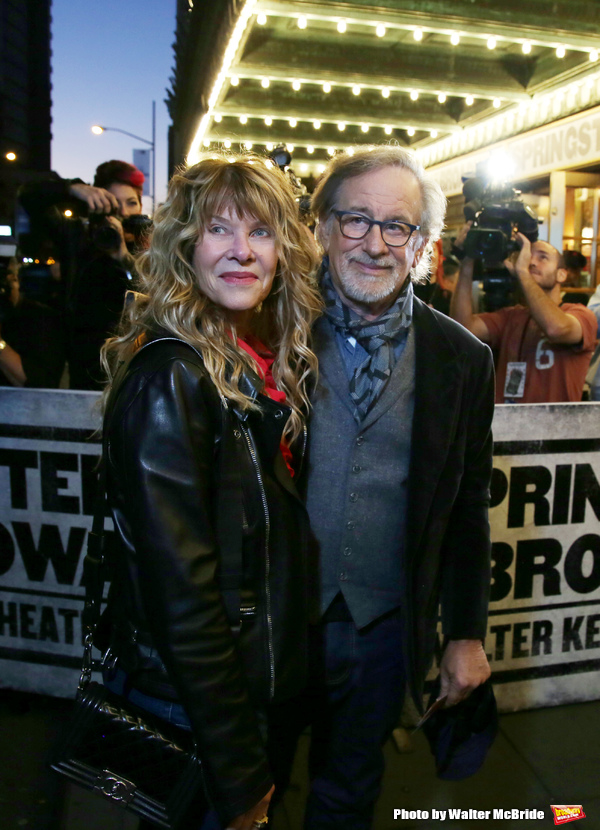 Kate Capshaw and Steven Spielberg Photo