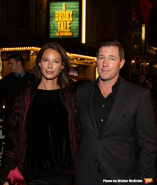 Christy Turlington and Ed Burns