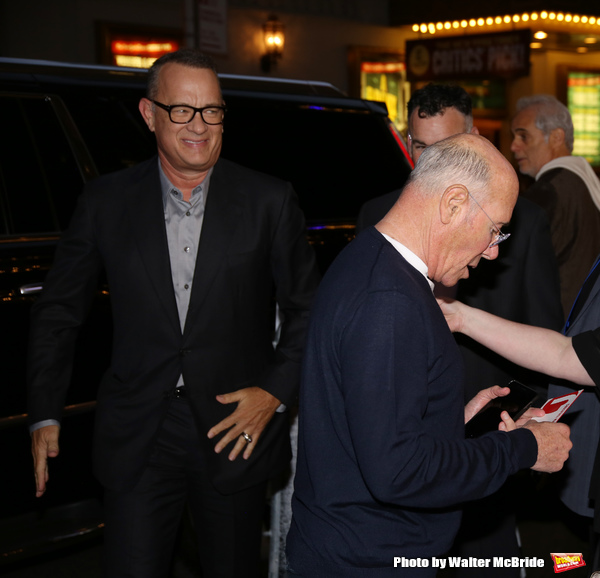 Tom Hanks and David Geffen
