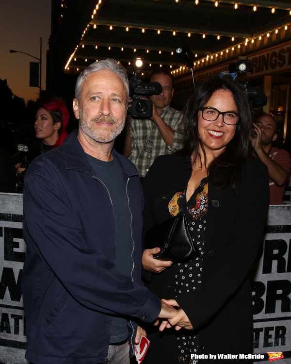Jon Stewart and Tracey McShane