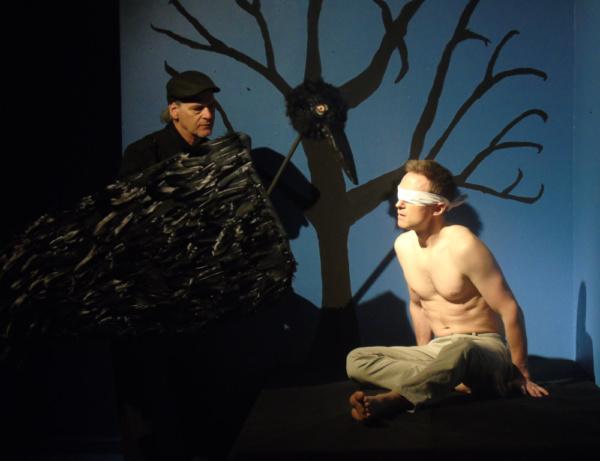 Edgar Allan Poe IV (Blackbird) and Joshua James Knightley (Connor) in afterlife: a gh Photo