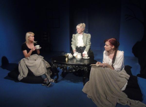 Meg Wallace, Mary Burkin and Georgan George