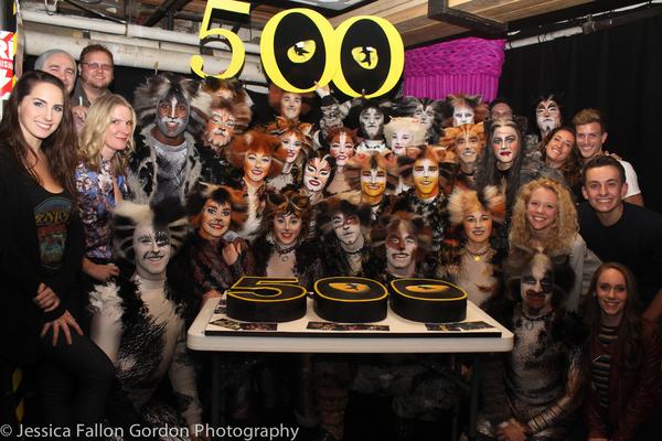 Photo Coverage: Me-Wow! CATS Celebrates 500 Performances on Broadway