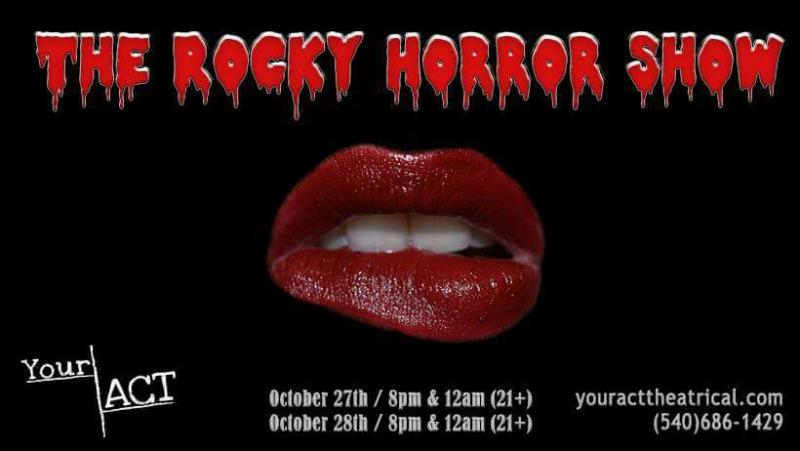 Your ACT Theatrical Co. presents: THE ROCKY HORROR SHOW