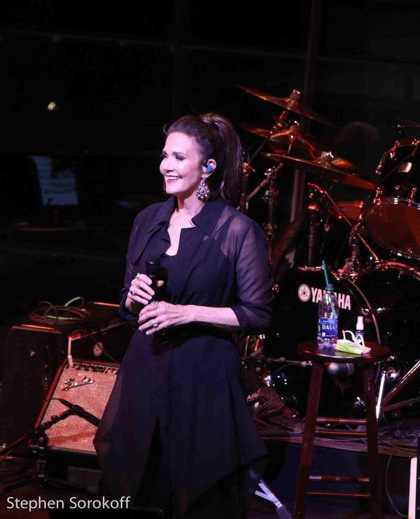 Photo Coverage: LYNDA CARTER (AKA Wonder Woman) Brings Her Concert to the Appel Room at JALC