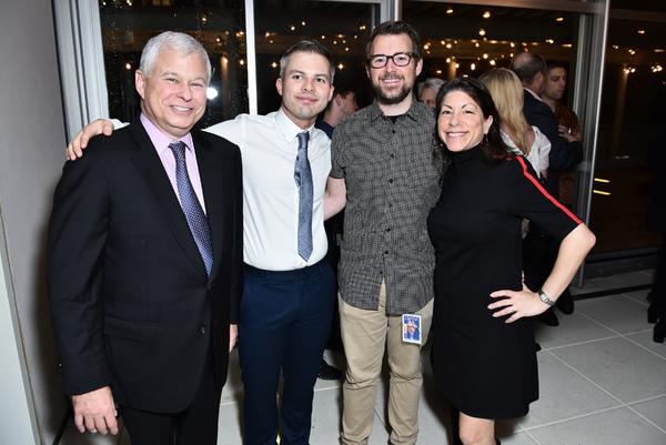 Stuart Coleman, Joshua Beamish, Mike Inwood, Meryl Rosofsky Photo