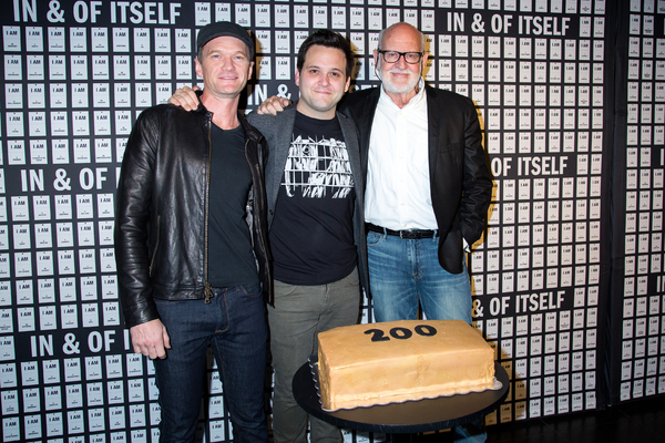 Neil Patrick Harris, Derek DelGaudio, Frank Oz Photo