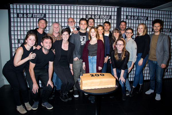 Photo Coverage: IN & OF ITSELF Celebrates 200 Performances with Neil Patrick Harris & Frank Oz!