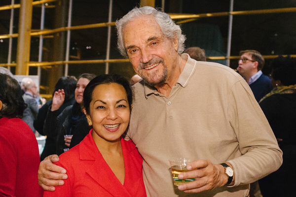 Seema Sueko and Hal Linden