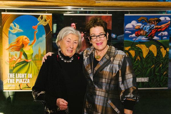 Margot Kelly and  Molly Smith