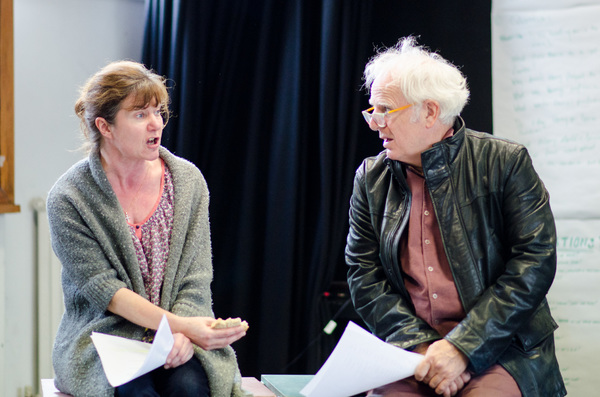 Photo Flash: Inside Rehearsal for TRESTLE at Southwark Playhouse