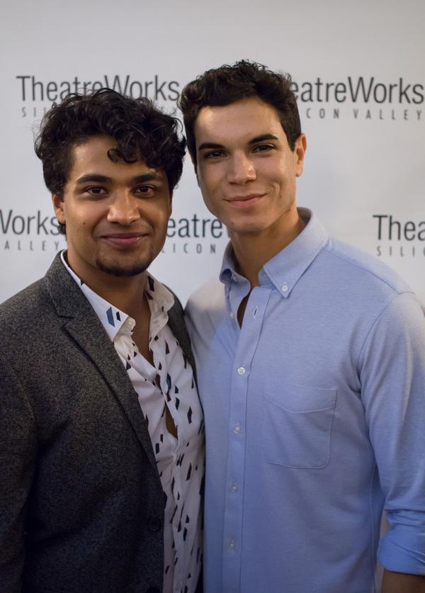 Diluckshan Jeyaratnam and Jason Gotay Photo