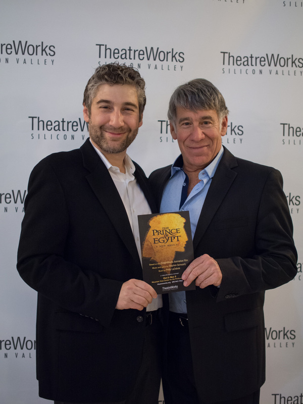 Photos: Stephen Schwartz, Jason Gotay, Diluckshan Jeyaratnam and More Celebrate THE PRINCE OF EGYPT Opening in Silicon Valley