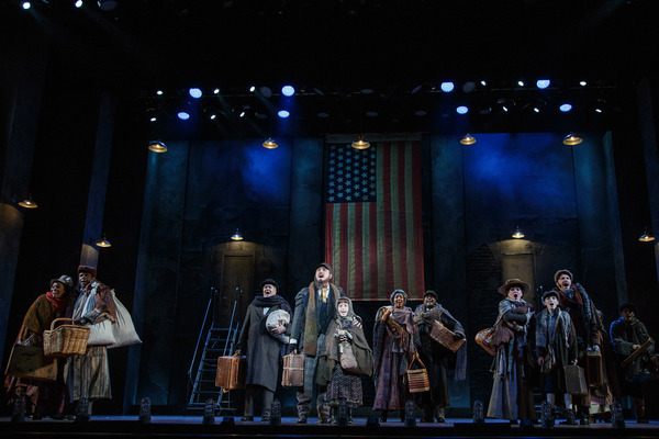 The company of RAGTIME at The 5th Avenue Theatre