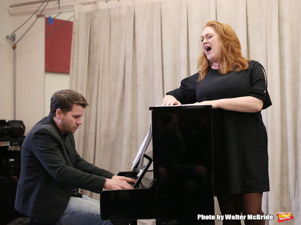 Photos: In Rehearsal with Nick Adams, Katie Thompson, and More in AND THE WORLD GOES ROUND