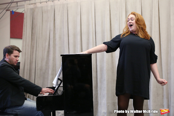Photo Coverage: In Rehearsal with Nick Adams, Katie Thompson, and More in AND THE WORLD GOES ROUND