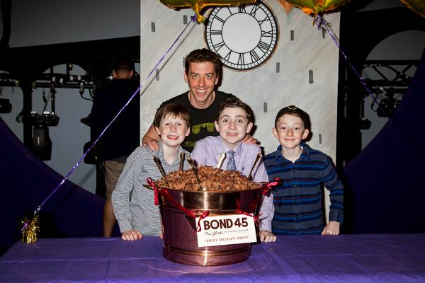 Jake Ryan Flynn, Christian Borle, Ryan Sell, Ryan Foust Photo