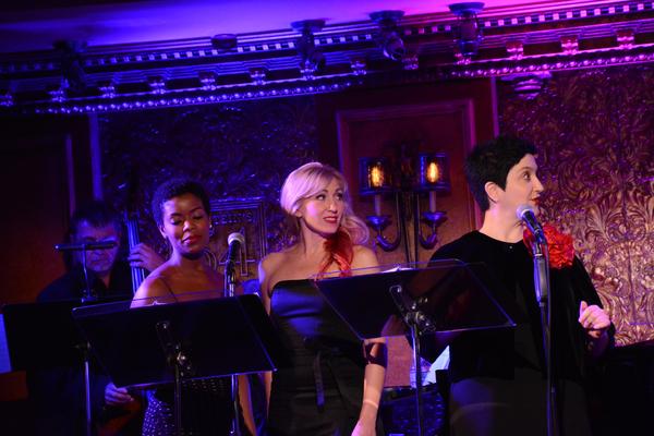 Trisha Jeffrey, Sarah Jane Shanks and Lauren Cohn