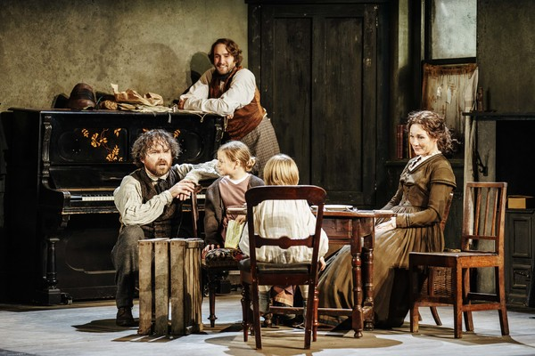 Rory Kinnear, Oliver Chris, Harriet Turnbull & Rupert Turnbull & Nancy Carroll