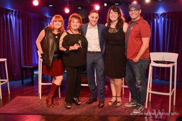 Annie Golden, Lin Tucci, Call Me Adam, Lauren Elder and Bobby Cronin Photo