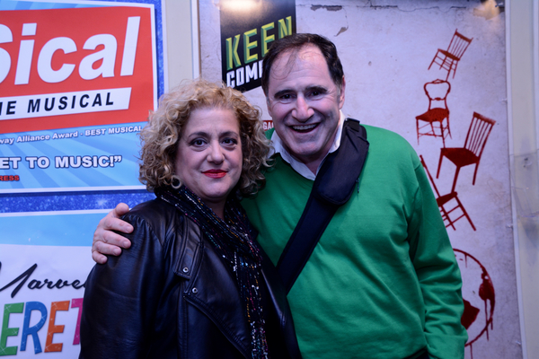 Mary Testa and Richard Kind