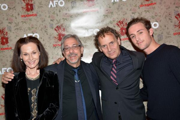 Michael Wolk, Sarah Miles, Robin Delevita and Robin Delevita Photo