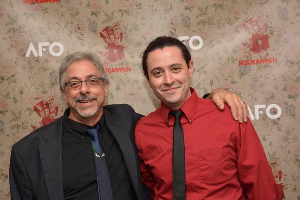 Michael Wolk and Aaron Mark