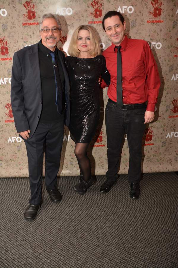 Michael Wolk, Alison Fraser and Aaron Mark
