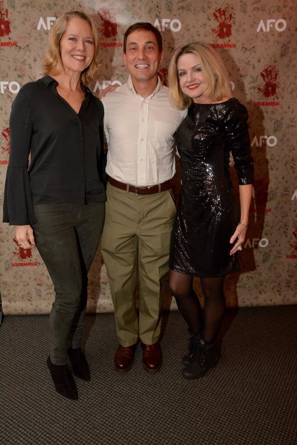 Rebecca Luker, John Babcock and Alison Fraser