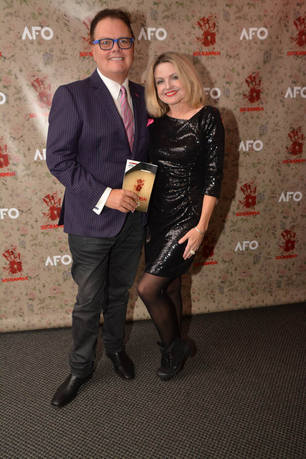 David Saint and Alison Fraser