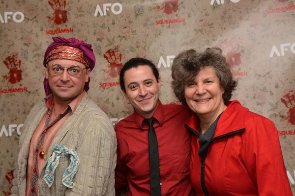 Michael Growler, Aaron Mark and Kristine Zbornik Photo