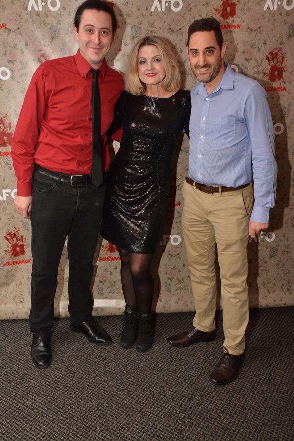 Aaron Mark, Alison Fraser and Adam Rothenberg