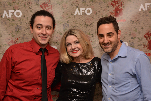 Aaron Mark, Alison Fraser and Adam Rothenberg Photo