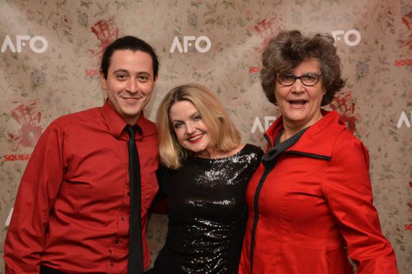 Aaron Mark, Alison Fraser and Kristine Zbornik Photo