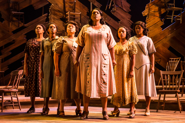 Photo Flash: They're Here! First Look at THE COLOR PURPLE on Tour