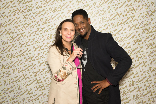 Emily Mann and Blair Underwood