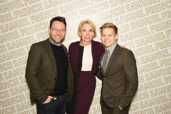 Tim Federle, Julie Halston, and Andrew Keenan-Bolger Photo
