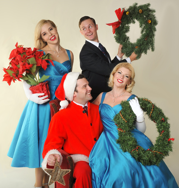 photo flash first look at the cast of irving berlins white christmas at sierra rep - Cast Of White Christmas